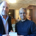 Mr. Peter Bundalo, TagorePrize founder and Mr. Bidhan Chandra, Executive Director – Kailash Satyarthi Children's Foundation