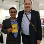 Mr. Rajdeep Mukherjee, Managing Director Panmacmillan India with Mr. Peter Bundalo, TagorePrize Founder – 2019.02.06