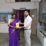 Ethiraj College for Women, University of Madras, Chennai, Tamil Nadu. Dr. J Mangayarkarasi, Head of English Department & Mr. Deepak, TagorePrize Consultant -2019.03.13