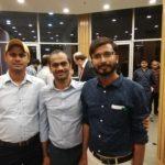 Rakesh Kumar, TagorePrize Project Manager and Maneesh Singh, TagorePrize Project Manager