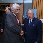 Maj Gen G.D. Bakshi and Ambassador of Taiwan to India, Chung-Kwang Tien