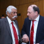 Maj Gen G.D. Bakshi and Peter Bundalo, TagorePrize Founder (2)