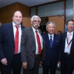 Peter Bundalo, TagorePrize Founder, Maj Gen G.D. Bakshi, Ambassador of Taiwan to India,Chung-Kwang Tien, C.C.Chang, Assistant Representative