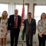 Vjerna Nevistic, TagorePrize Board of Directors, Peter Bundalo TagorePrize Founder, HE Arindam Bagchi, Ambassador of India to Croatia Simona Ivanda, TagorePrize Board of Directors – June 4th, 2019.