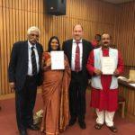 From left: Gen. G.D Bakshi, Ms. Vinita Agrawal, Mr. Peter Bundalo and Mr. Kiriti Sengupta