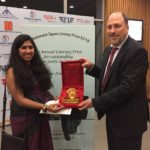 Ms. Anindita Ghosh, TagorePrize 2018. jury member and Mr. Peter Bundalo, TagorePrize founder