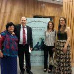 From left: Dr. Yvette Rosser, Mr. Peter Bundalo, Ms. Simona Ivanda and Ms. Freja Sandkamm