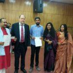 From left: Mr. Kiriti Sengupta, Mr. Peter Bundalo, Mr. Maitreya Nair, Ms. Anindita Ghosh and Ms. Vinita Agrawal