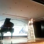 Ms. Freja Sandkamm, opera singer from Hamburg, Germany