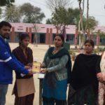 Government Senior Secondary School, Budhpur, Rewari, Haryana. Mr. Mohit Kumar, TagorePrize Volunteer, Ms. Meenakshi, Library Club, Ms. Anju, Librarian, Ms. Santosh Yadav, Principal, Ms. Anita, English Lecturer – February 21st, 2019.