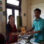 Dr. Ajanta Chutia, Principal,Renu Terangpi Memorial College, Diphu, Karbi Anglong, Assam with Mr. Longbir Terang, TagorePrize Volunteer – March 23rd, 2019.