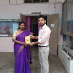 Ethiraj College for Women, University of Madras, Chennai, Tamil Nadu. Dr. J Mangayarkarasi, Head of English Department & Mr. Deepak, TagorePrize Consultant – March 13th, 2019.